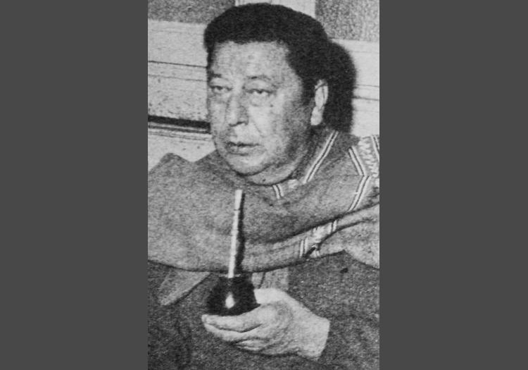 Portrait de Altahualpa Yupanqui