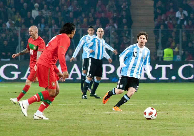 Portugal vs Argentine, 9 février 2011 - CC Wikimedia