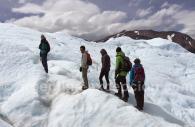 Trekking sur le glacier
