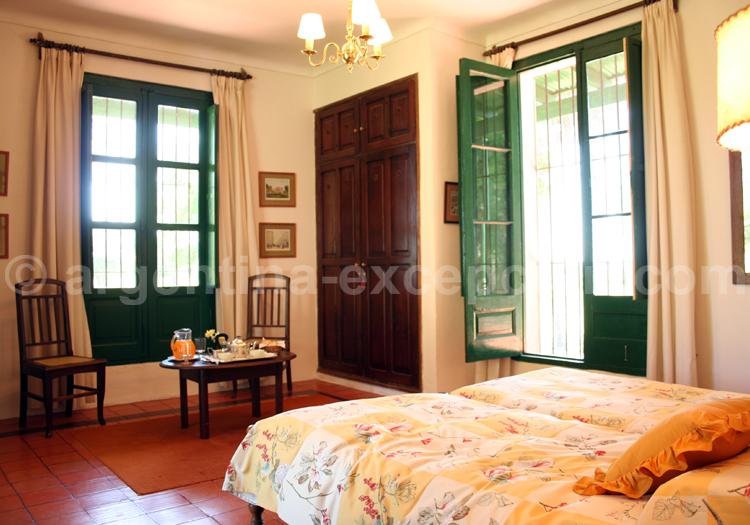 Chambre double, Estancia Buena Vista