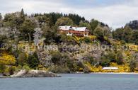 Arrivée sur la Isla Victoria