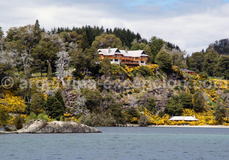 rive de l'île Victoria, Patagonie