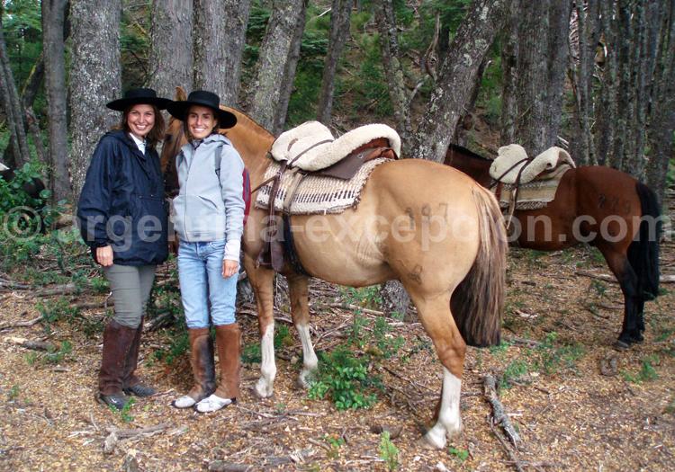 balade à cheval sur l'île Victoria