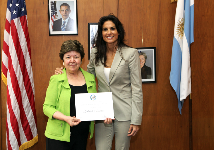 Gabriela Sabatini - CC Flickr Embajada de EEUU en la Argentina