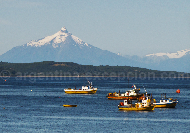 Le volcan Osorno depuis Chiloé