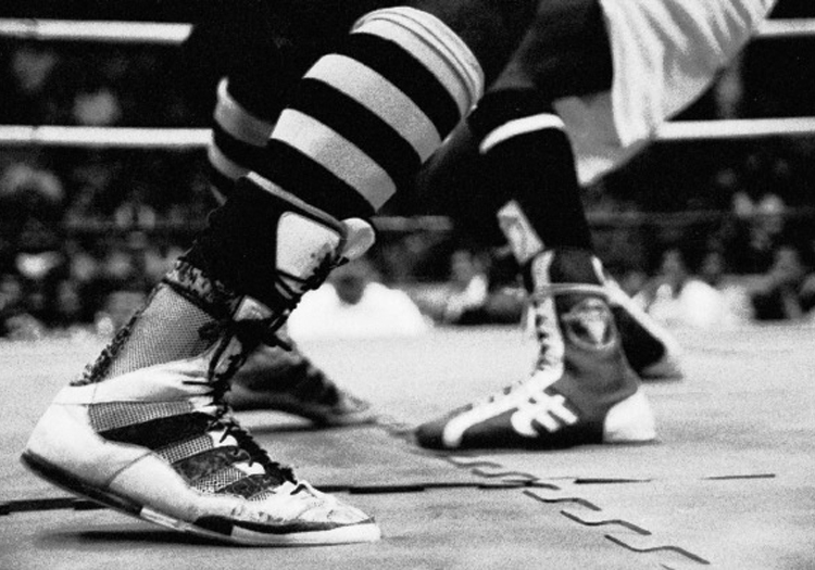Combat de boxe. CC Flickr Miva Filho