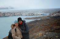 Pause devant le glacier Upsala