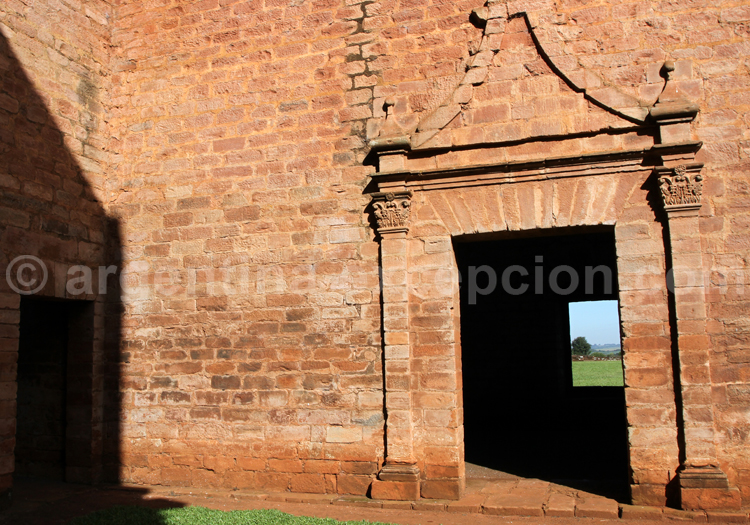 Porte, Jesús de Tavarengue, Paraguay