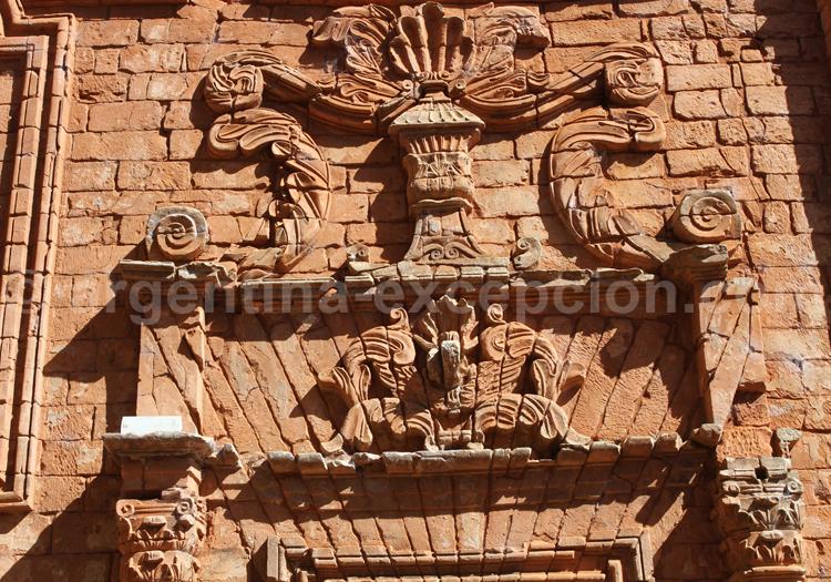 Détails d'une construction jésuite, Paraguay
