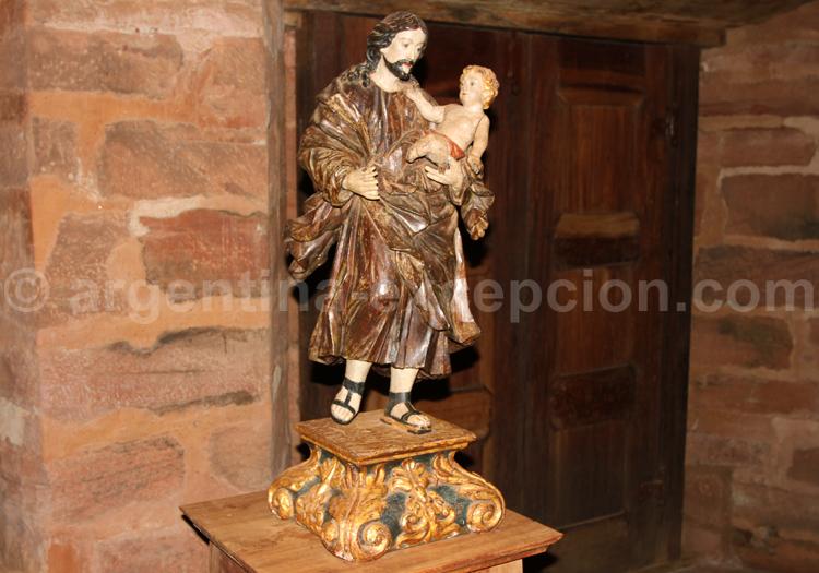 Sculpture en bois, San Cosme y San Damián