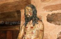 Sculpture de Jésus, San Cosme y San Damián
