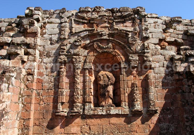 Architecture, mission jésuite Santísima Trinidad