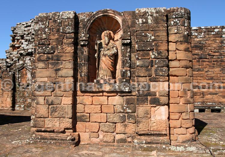 Vestiges, Santísima Trinidad, Paraguay
