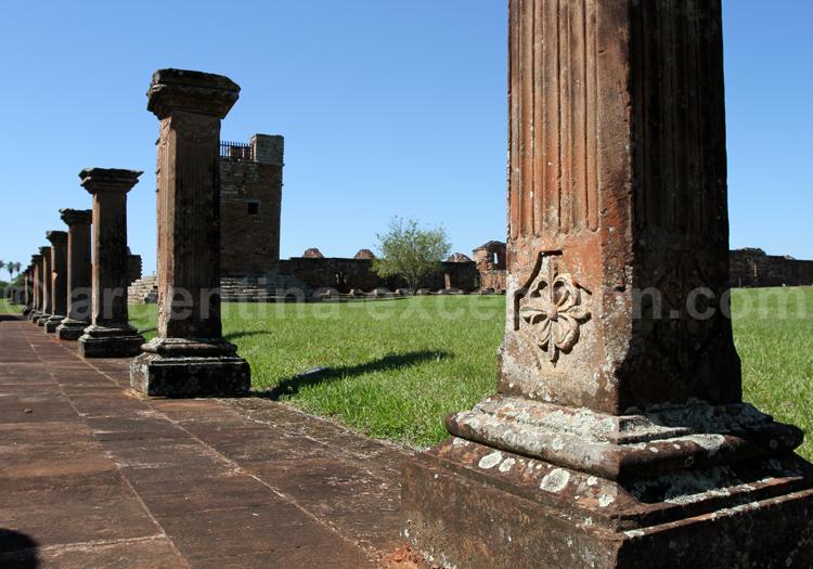 Colonnes, Santísima Trinidad, Paraguay