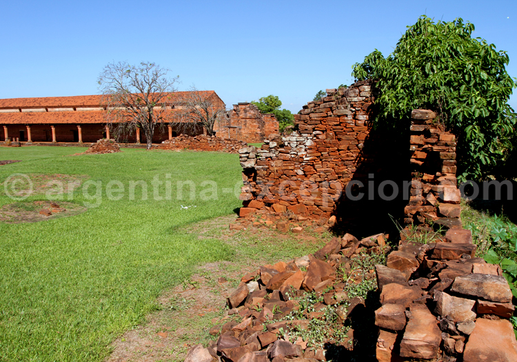 Ruines jésuites de San Cosme y San Damián