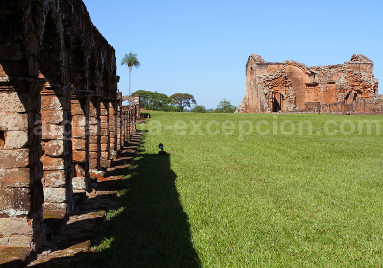 Construction jésuite, Santísima Trinidad