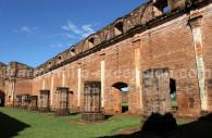 Façade , mission jésuite au Paraguay