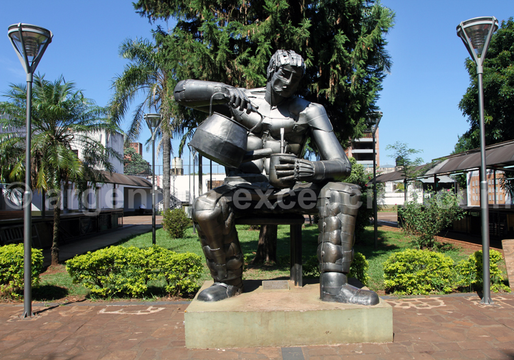 Sculpture El Matero, Posadas, Misiones