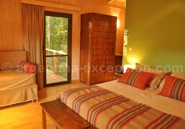Don Moconá Virgin Lodge, Chambre double
