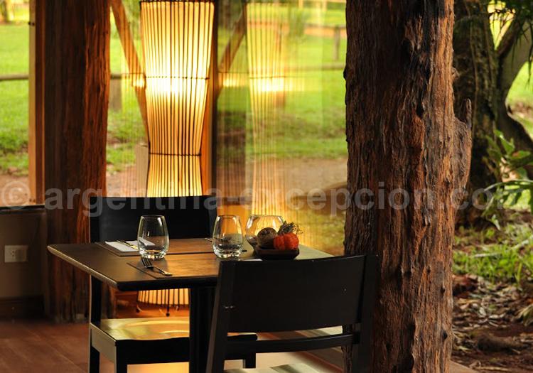 Don Moconá Virgin Lodge, Restaurant