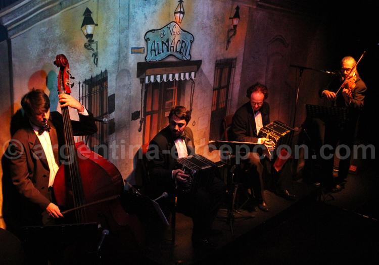 Orchestre de tango, el Viejo Almacen