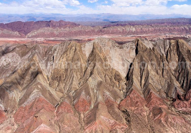Montagnes colorées de la puna, Nord Ouest Argentin