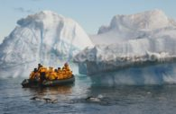 Excursión en la Antartida