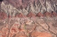 Hauts plateaux andins, survol en avion privé