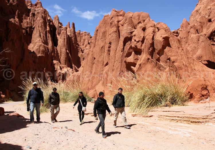 Randonnée dans le canyon d'Acsibi
