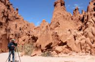 Formations rocheuses des grottes Acsibi