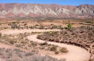 Formations géologiques, région de Salta