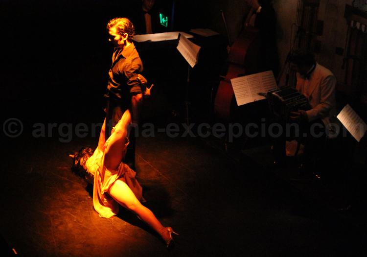 Figure de tango, Buenos Aires, Argentine