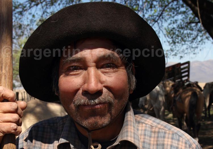 Portrait d'un gaucho, Salta