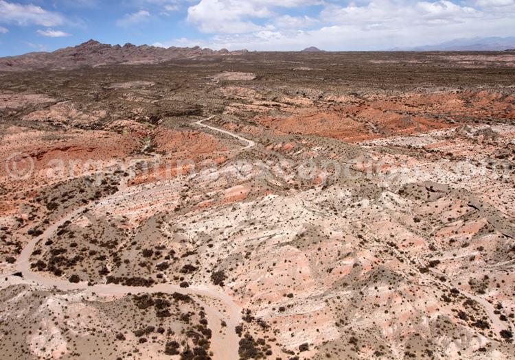 Site naturel los Colorados, région de Salta