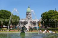 Congreso, downtown Buenos Aires