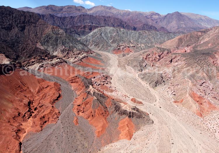 Survol du Canyon de las Conchas