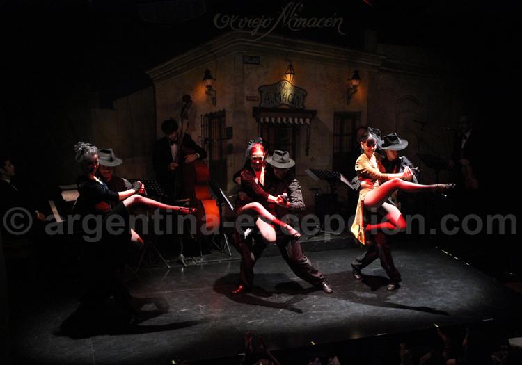Spectacle de tango, el Viejo Amacen