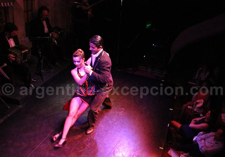 Démonstration de tango argentin