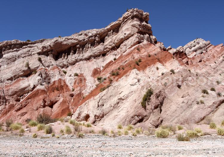 Formations géologiques, Vallées Calchaquies