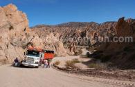 Quebrada de las Flechas, Nord-ouest