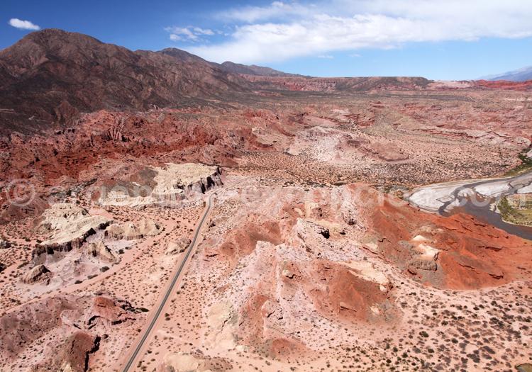 Vol privé au-dessus de la Quebrada de las Conchas