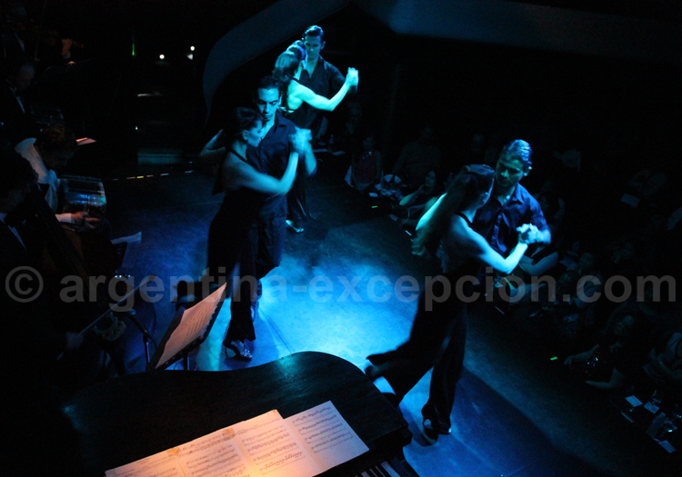 Tango argentin, milonga el Viejo Almacen