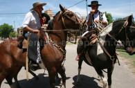 Gauchos à cheval
