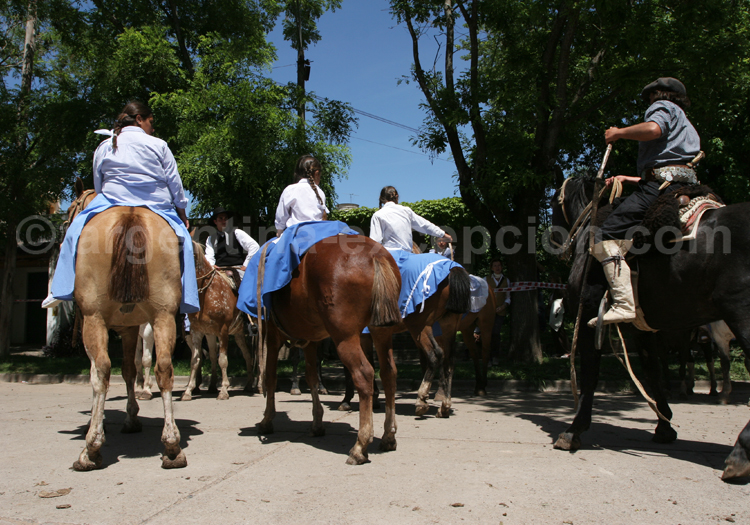 Gauchas en fête à San Antonio de Areco