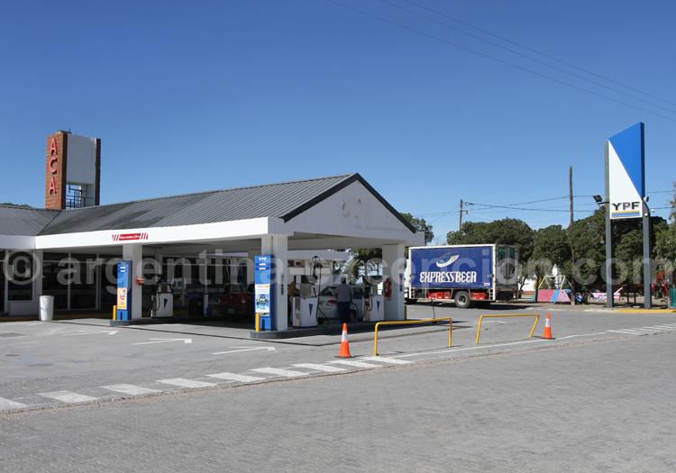 Station service de Puerto Pirámides