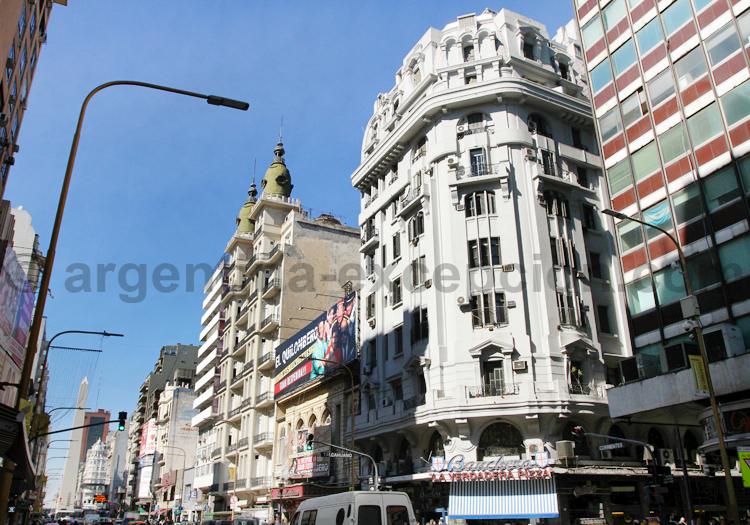 Avenida Corrientes, Microcentro