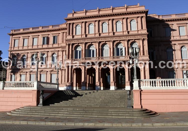 Casa Rosada, Maison Rose, Palais Exécutif argentin