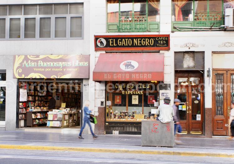 El Gato Negro, avenue Corrientes