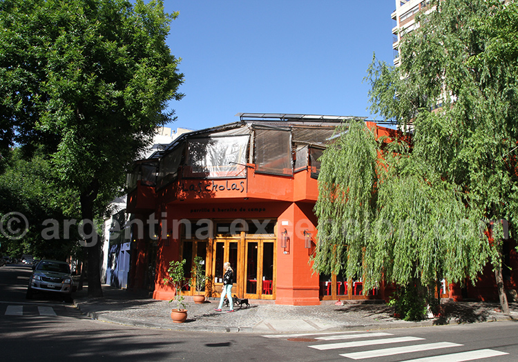 Les restaurants de las Cañitas