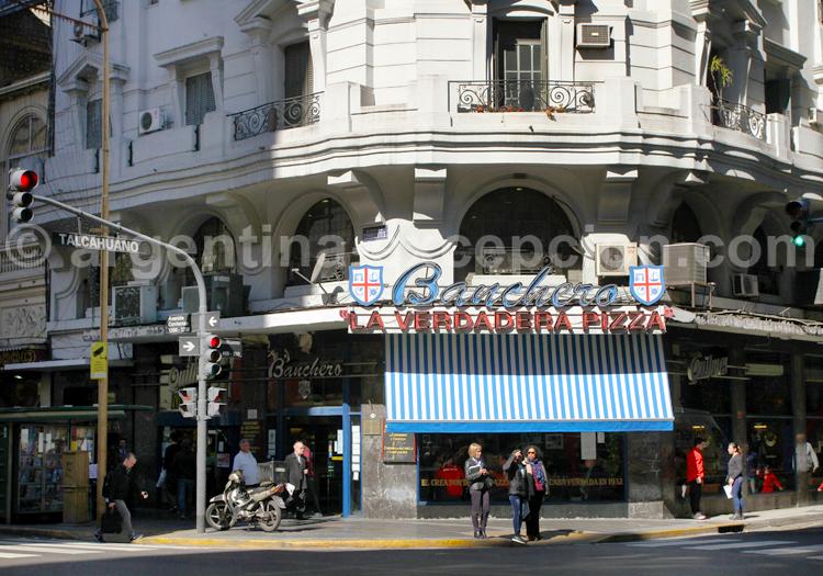 Pizzeria Banchero, avenue Corrientes